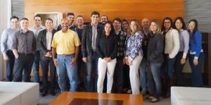 Equipe de usuários-chave da Hunter Douglas Brasil - Kick off da implantação do Microsoft Dynamics AX na Hunter Douglas no Brasil.